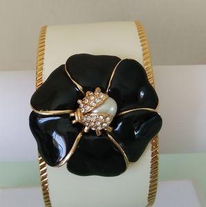 Flower/Ladybug Bangle